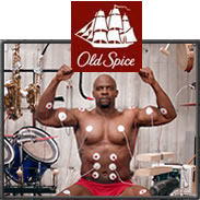 old spice interactive video